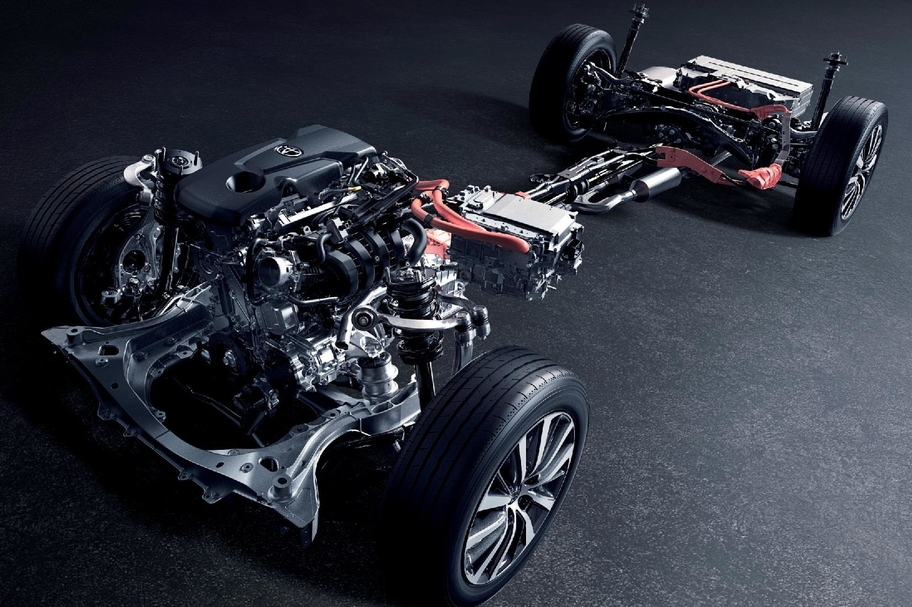 2.5L DYNAMIC FORCE ENGINE A25A-FXS × HYBRID SYSTEM イメージ